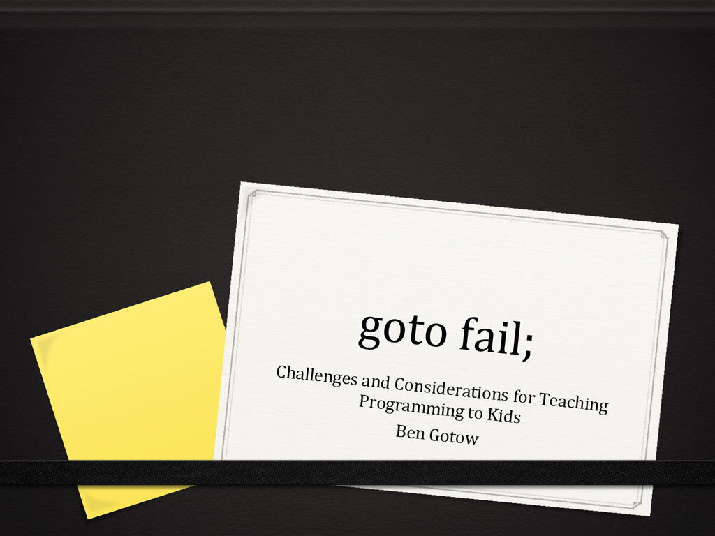 goto	
