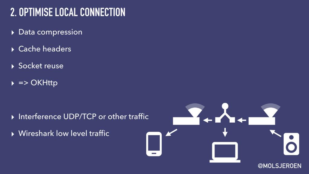 @MOLSJEROEN 2. OPTIMISE LOCAL CONNECTION ▸ Data...