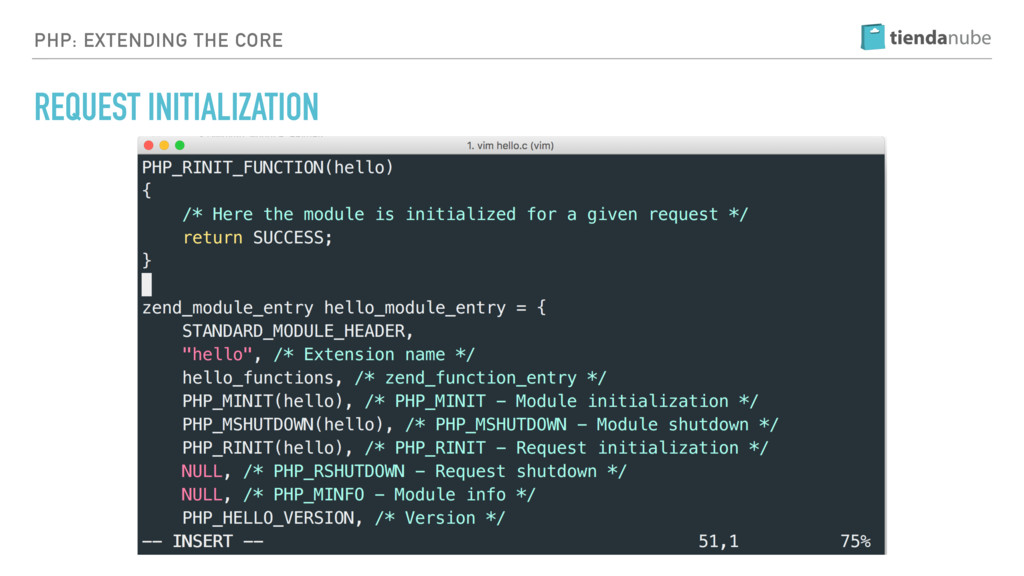 PHP: EXTENDING THE CORE REQUEST INITIALIZATION