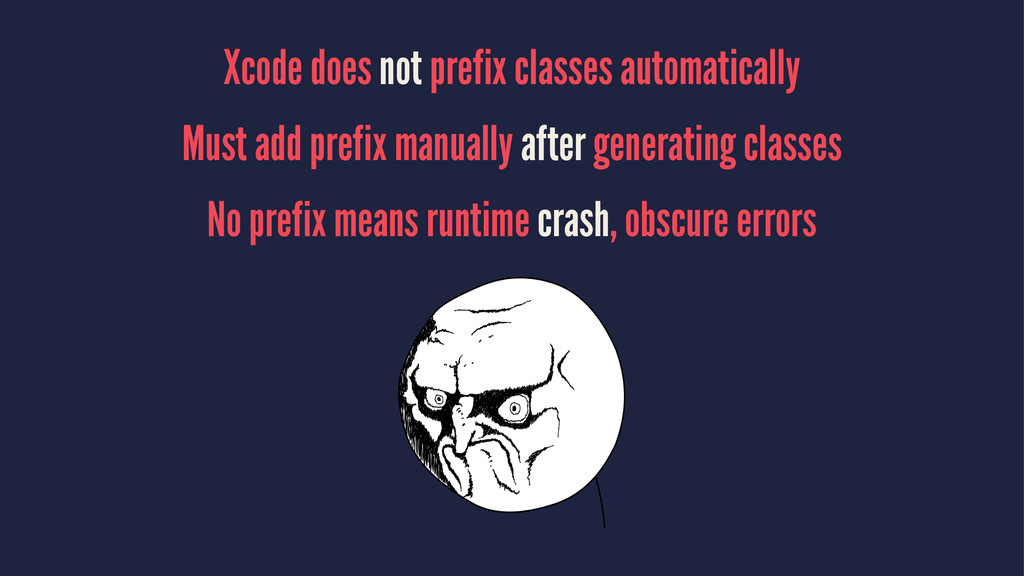 Xcode does not prefix classes automatically Mus...