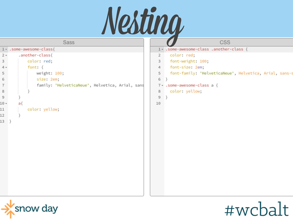 Nesting Nesting #wcgr #wcbalt