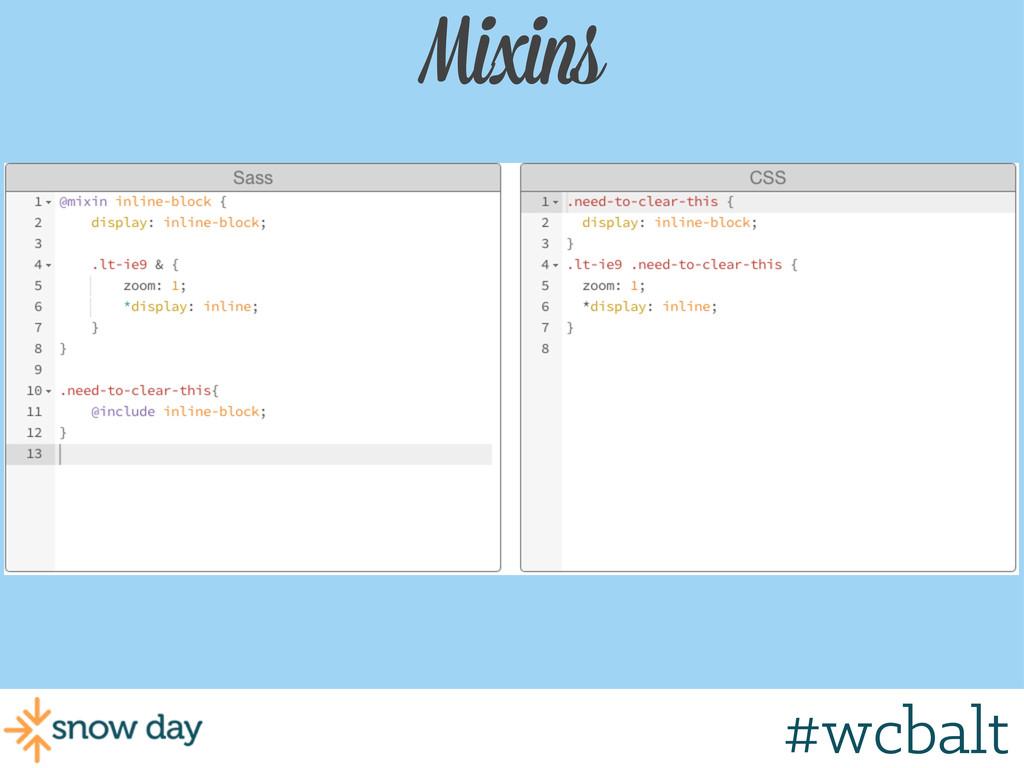 Mixins #wcbalt