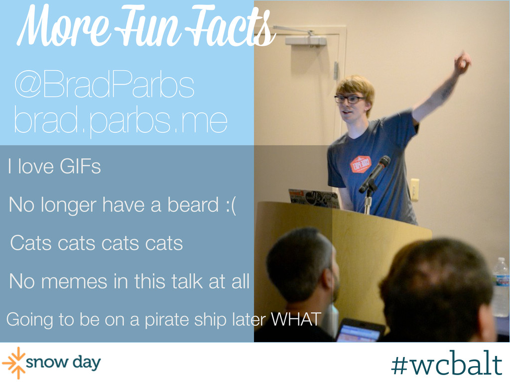 #wcpvd More Fun Facts Going to be on a pirate s...