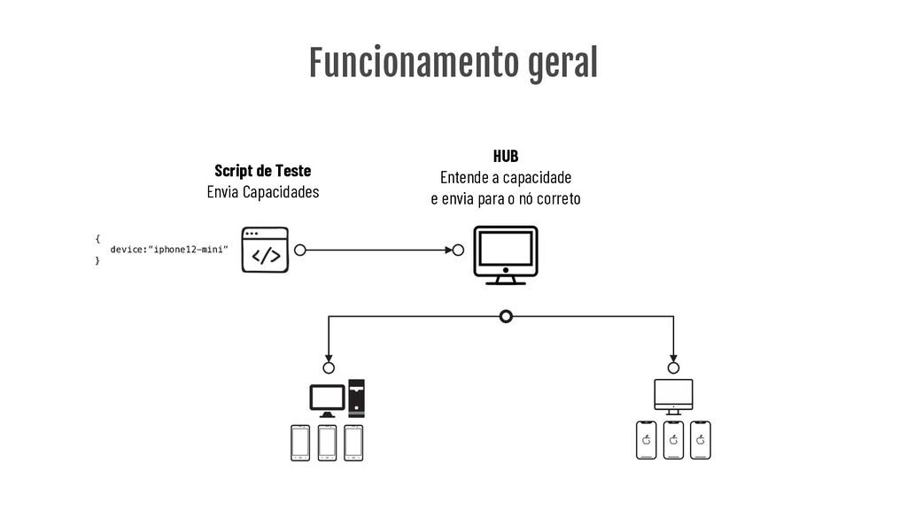 Funcionamento geral Script de Teste Envia Capac...