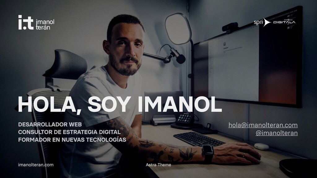 Astra Theme imanolteran.com HOLA, SOY IMANOL DE...