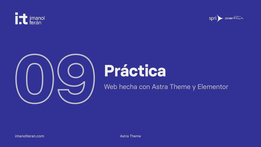imanolteran.com 09Práctica Web hecha con Astra ...