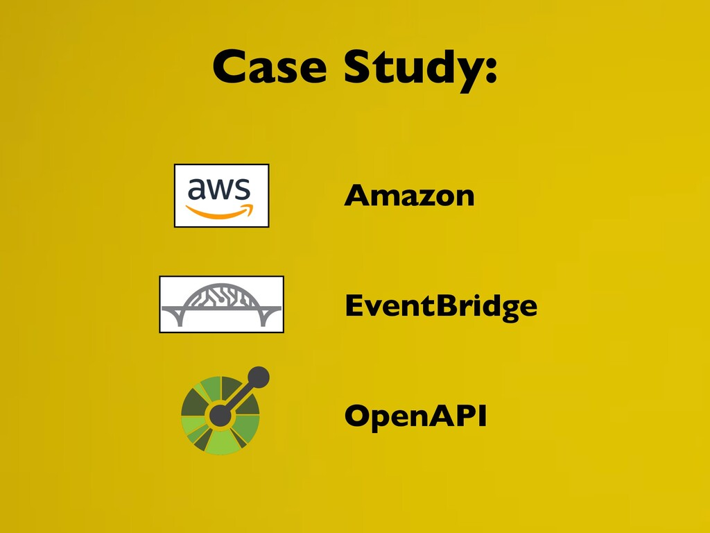 Case Study: Amazon EventBridge OpenAPI