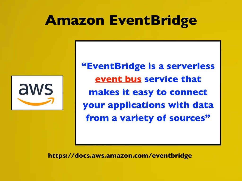 https://docs.aws.amazon.com/eventbridge Amazon ...