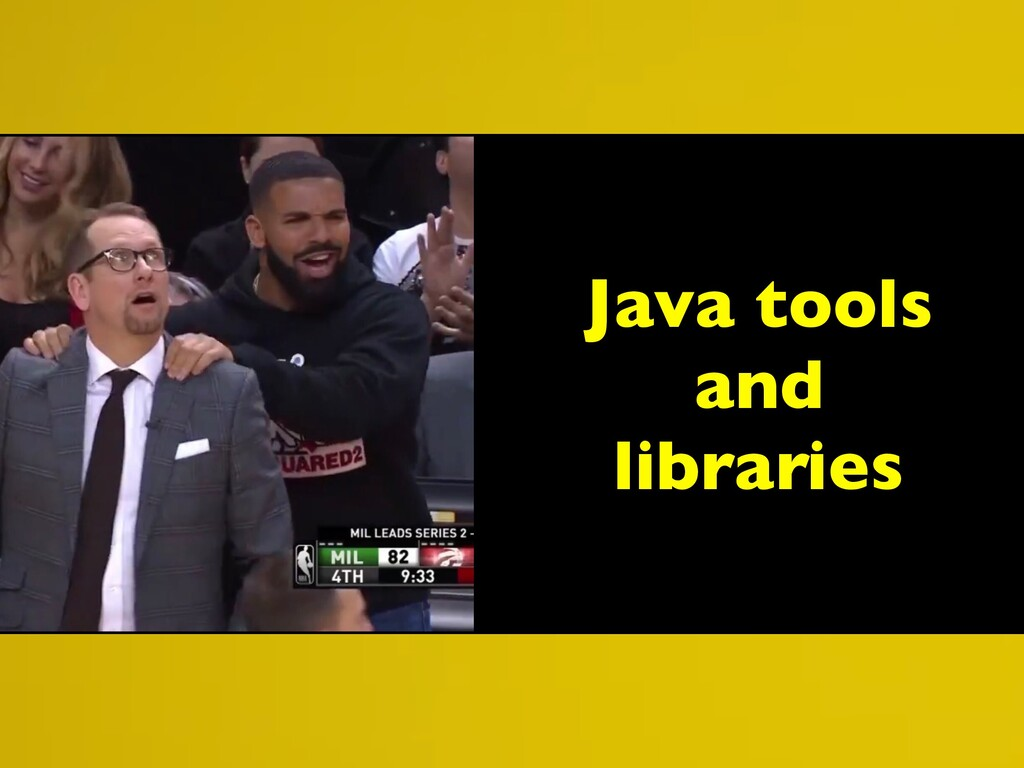 Java tools and libraries