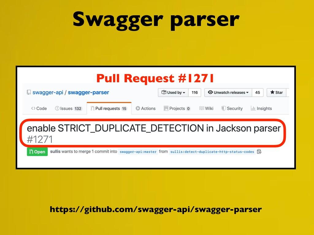 https://github.com/swagger-api/swagger-parser S...