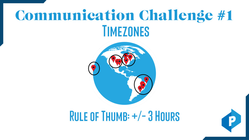 Communication Challenge #1 Timezones Rule of Th...