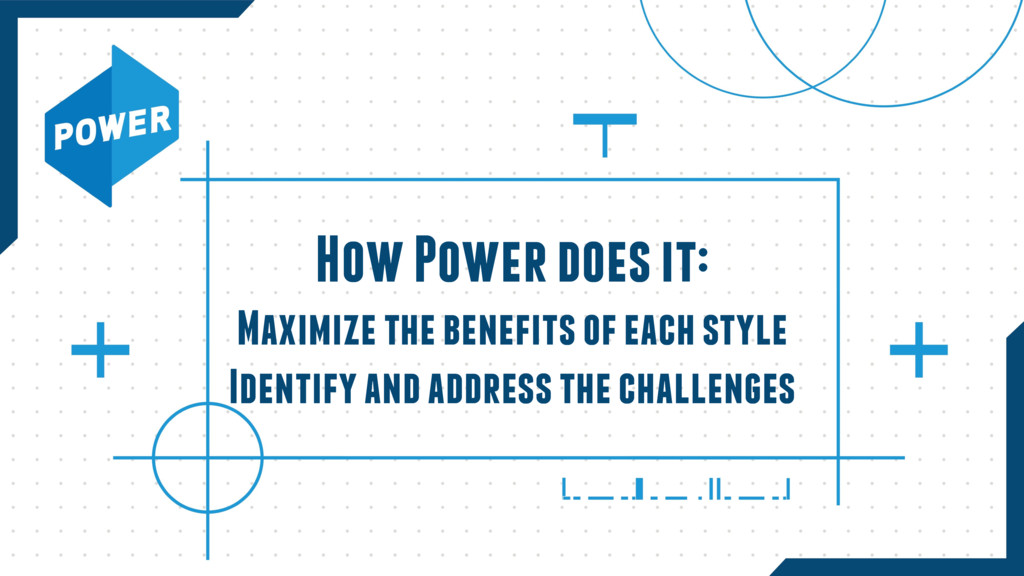 How Power does it:  Maximize the benefits of e...