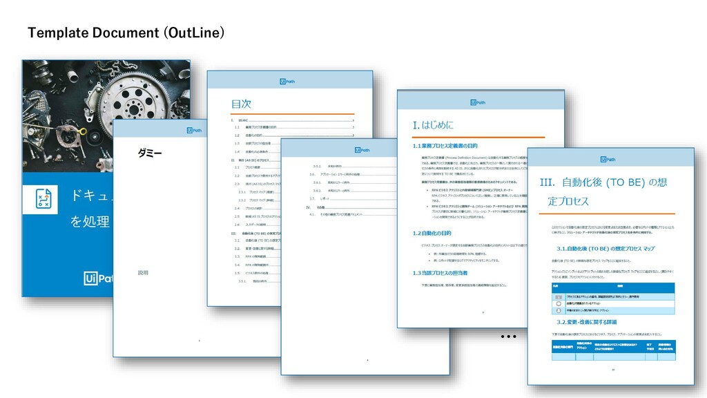 … Template Document (OutLine)
