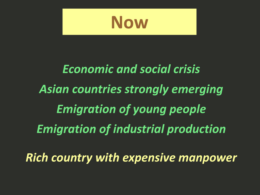 Now Economic and social crisis Asian countries ...