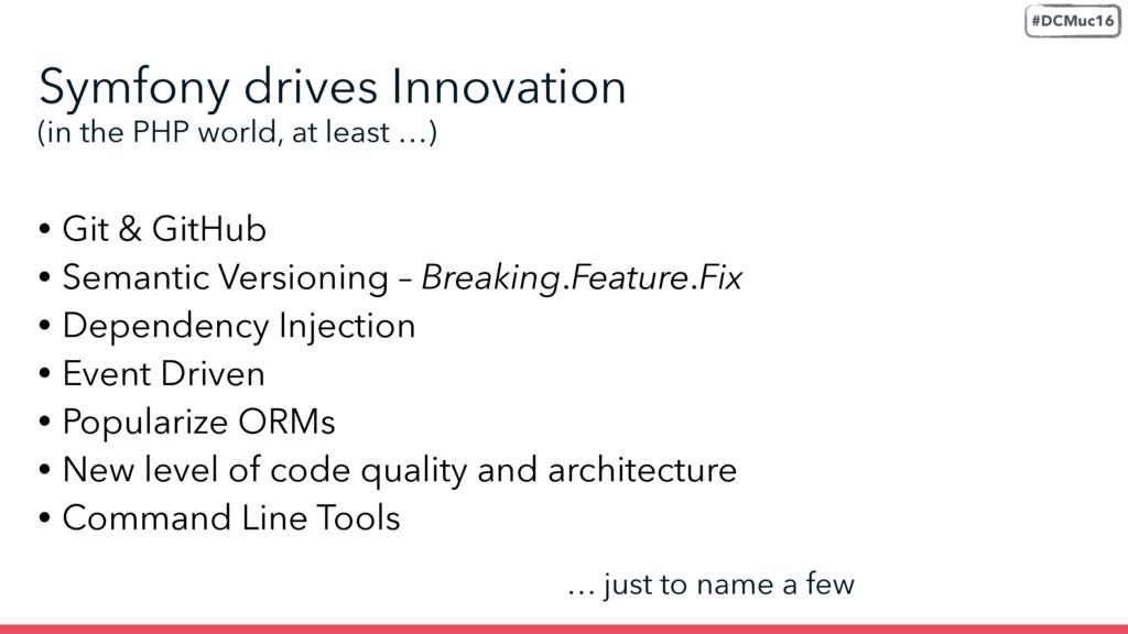 • Git & GitHub • Semantic Versioning – Breaking...