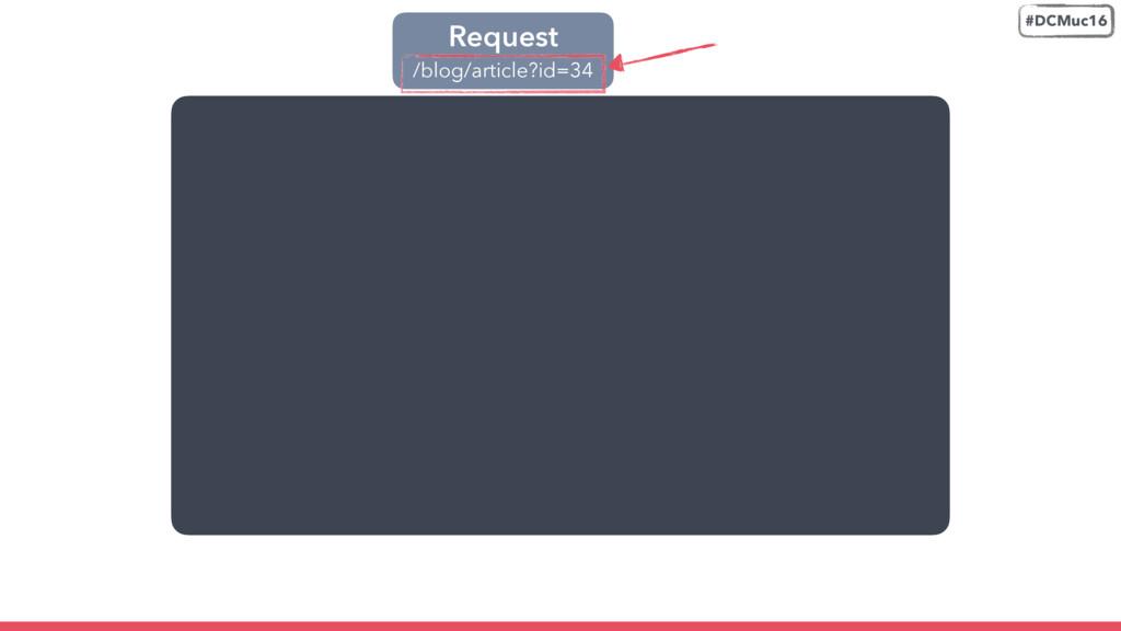 Request /blog/article?id=34 #DCMuc16