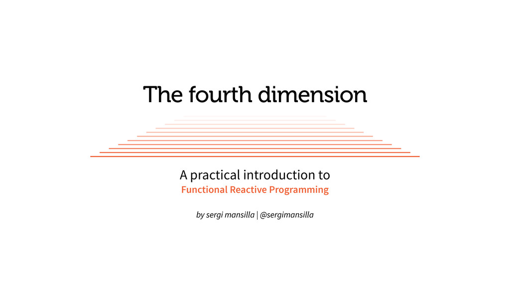 The fourth dimension A practical introduction t...