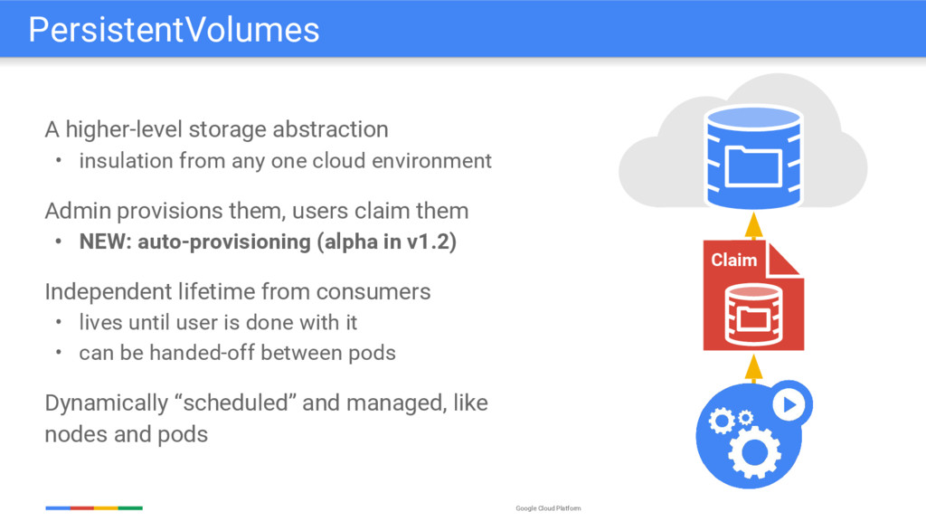 Google Cloud Platform A higher-level storage ab...