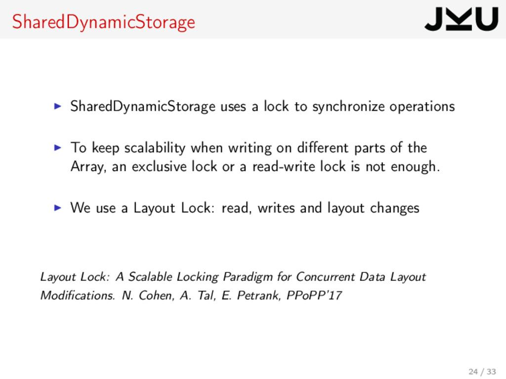 SharedDynamicStorage SharedDynamicStorage uses ...
