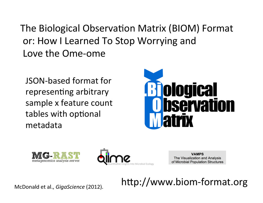hLp://www.biom-­‐format.org	
