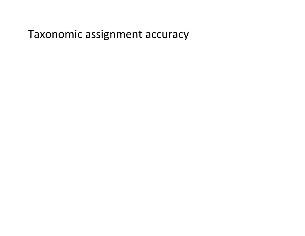 Taxonomic	