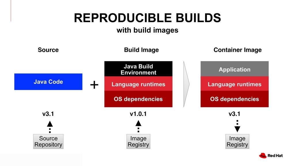 Java Build Environment Language runtimes OS dep...