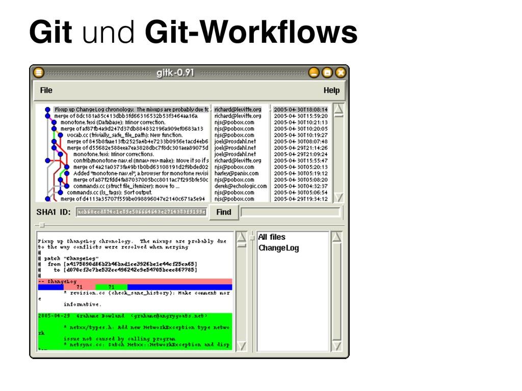 Git und Git-Workflows