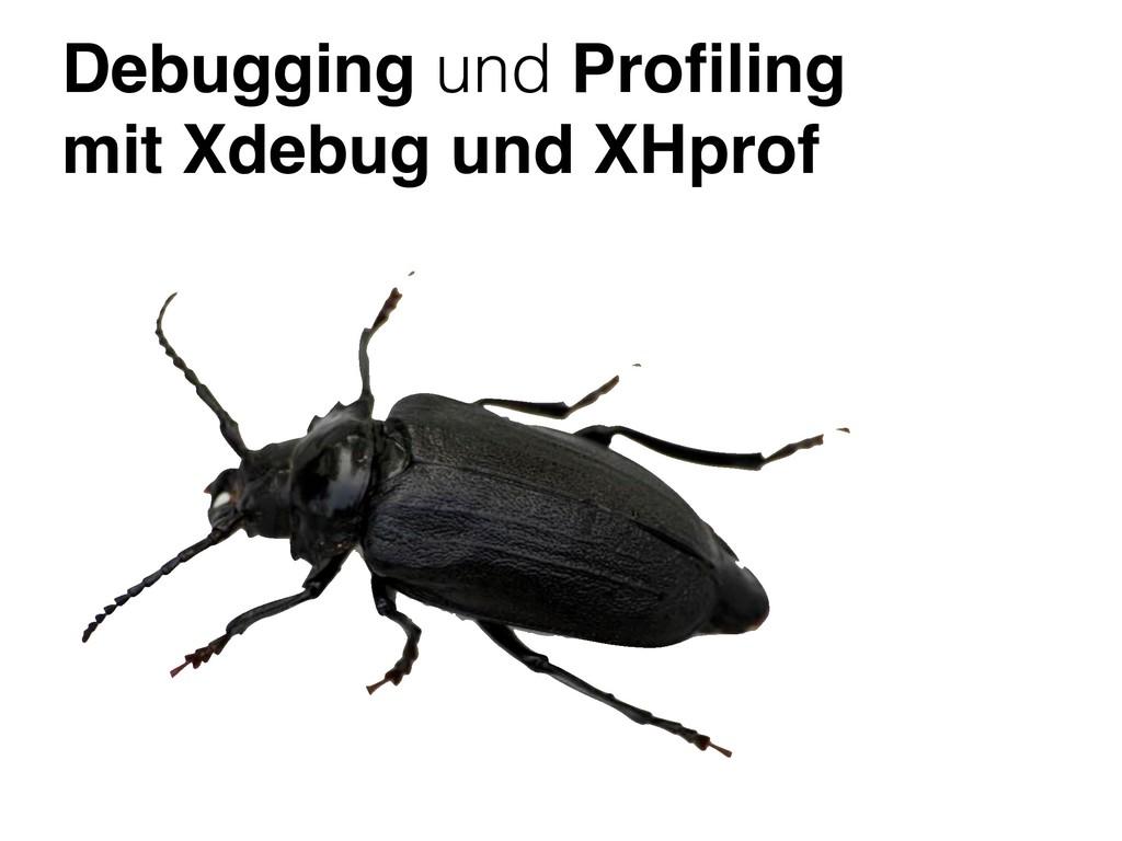 Debugging und Profiling mit Xdebug und XHprof