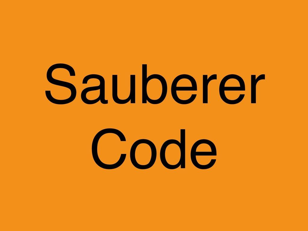 Sauberer Code