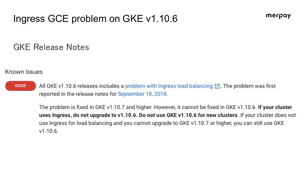 Ingress GCE problem on GKE v1.10.6 GKE Release ...