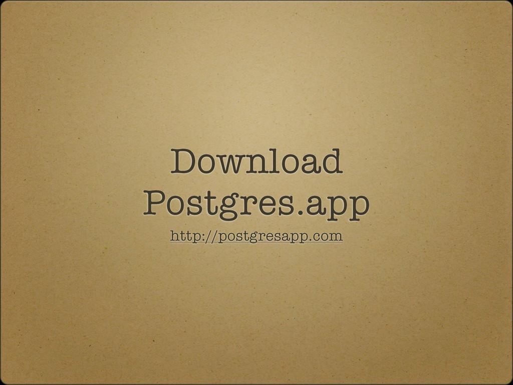 Download Postgres.app http://postgresapp.com