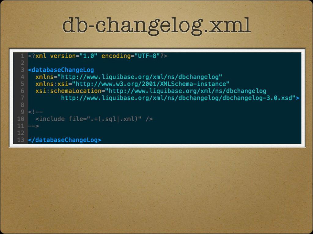 db-changelog.xml