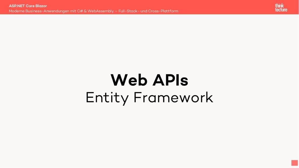Web APIs Entity Framework Moderne Business-Anwe...
