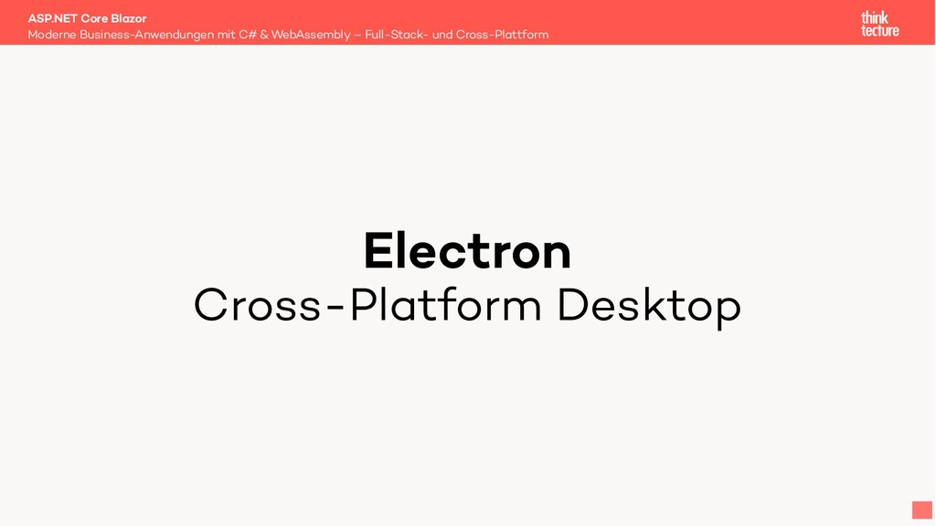 Electron Cross-Platform Desktop Moderne Busines...