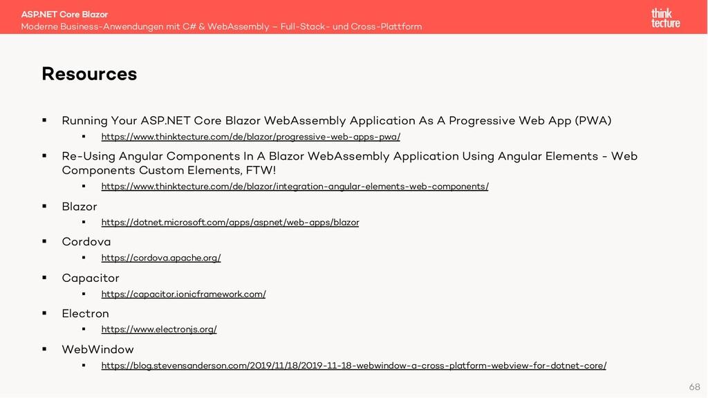68 § Running Your ASP.NET Core Blazor WebAssemb...