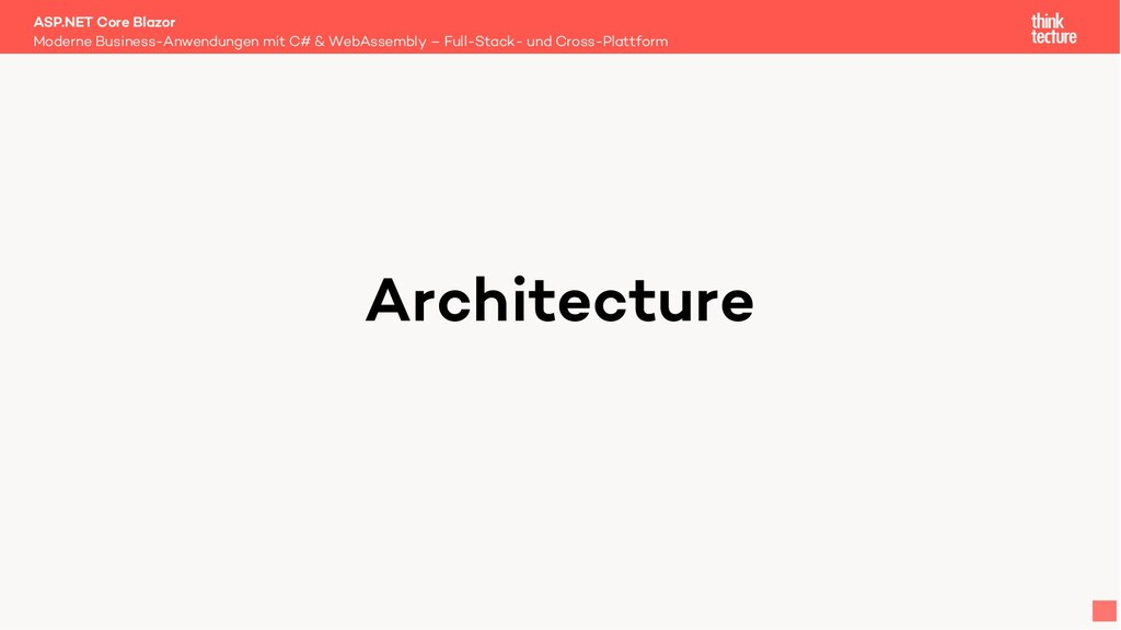 Architecture Moderne Business-Anwendungen mit C...