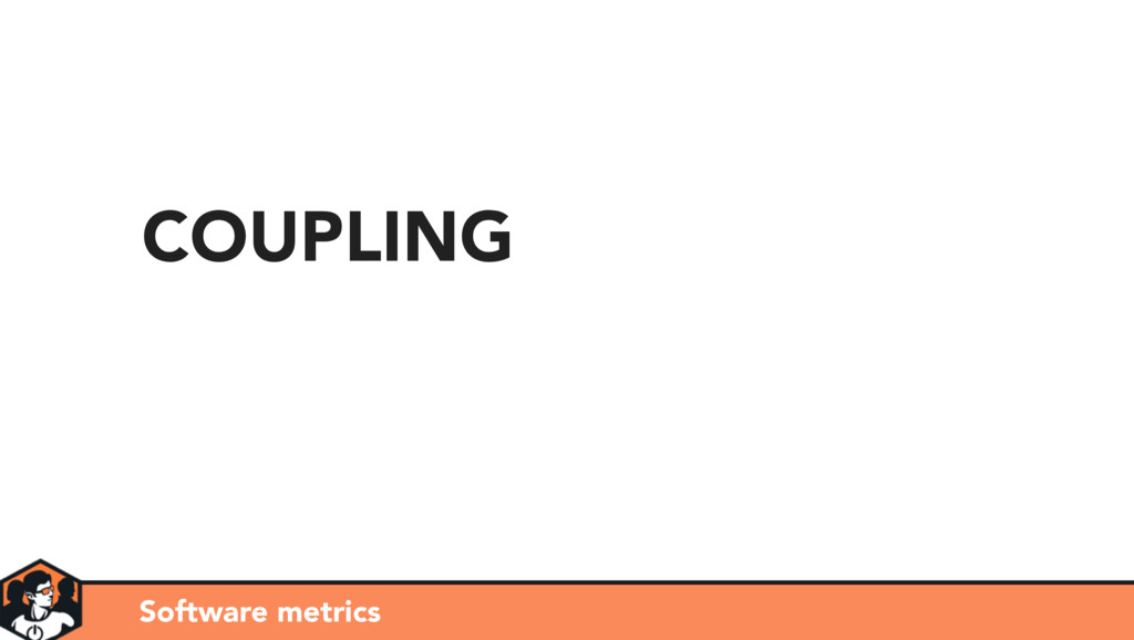 Software metrics COUPLING