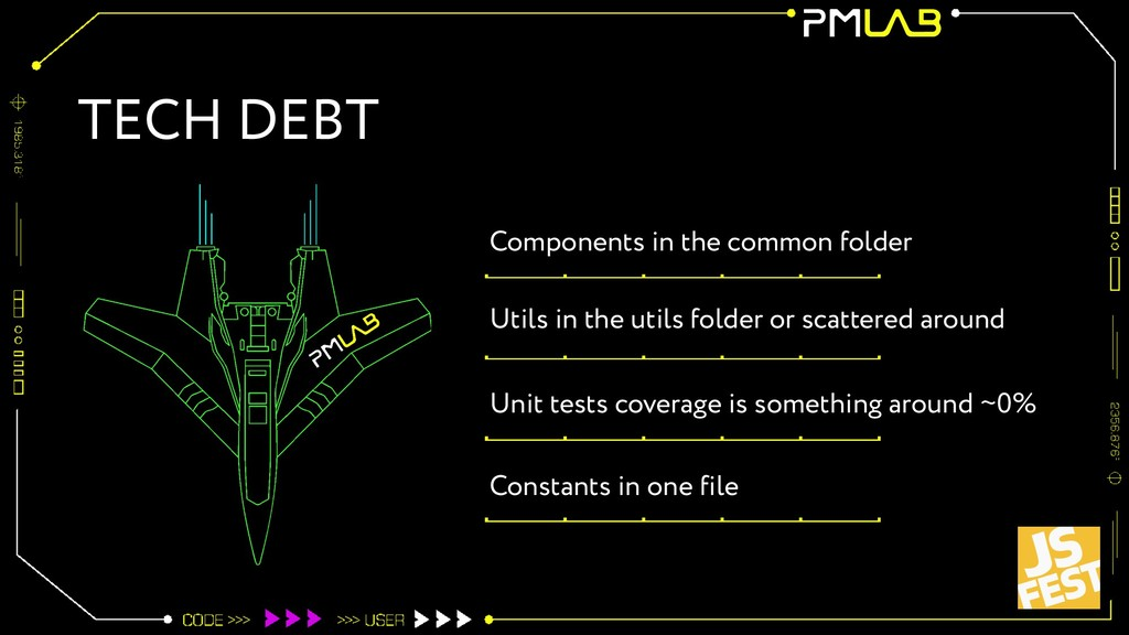 TECH DEBT Components in the common folder Utils...