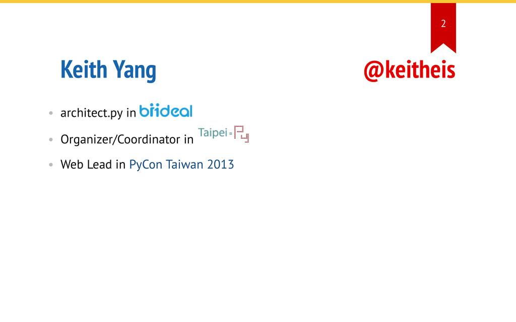 @keitheis Keith Yang • architect.py in • Organi...