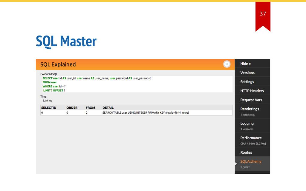 SQL Master 37