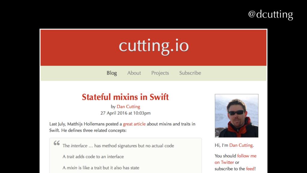 @dcutting