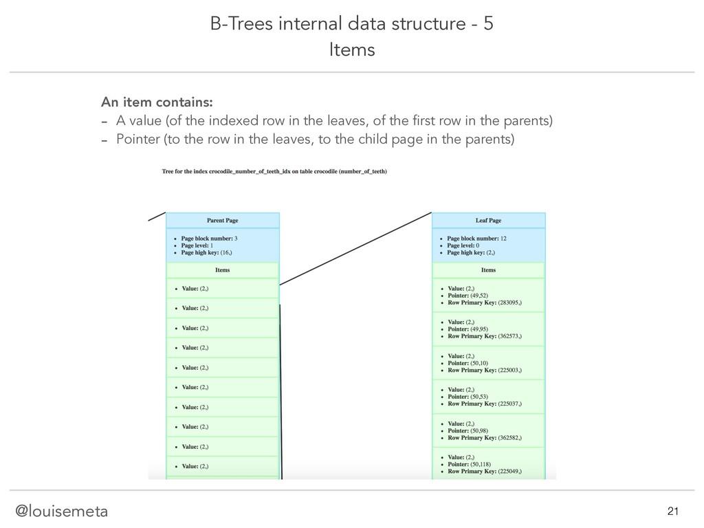 @louisemeta B-Trees internal data structure - 5...