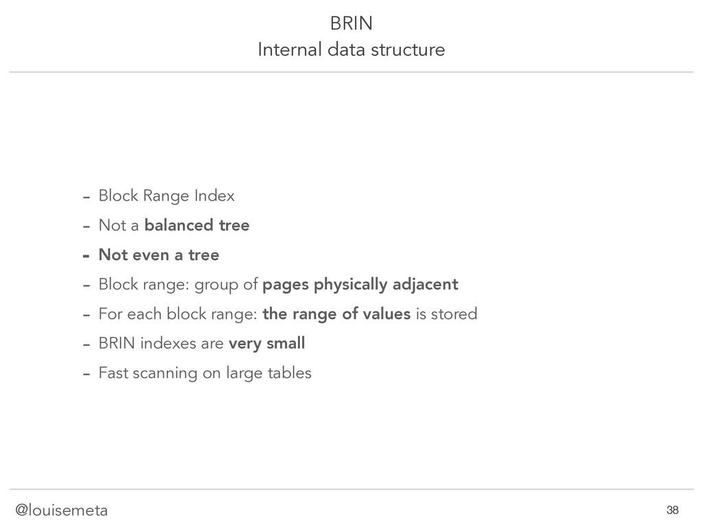 @louisemeta BRIN Internal data structure - Bloc...