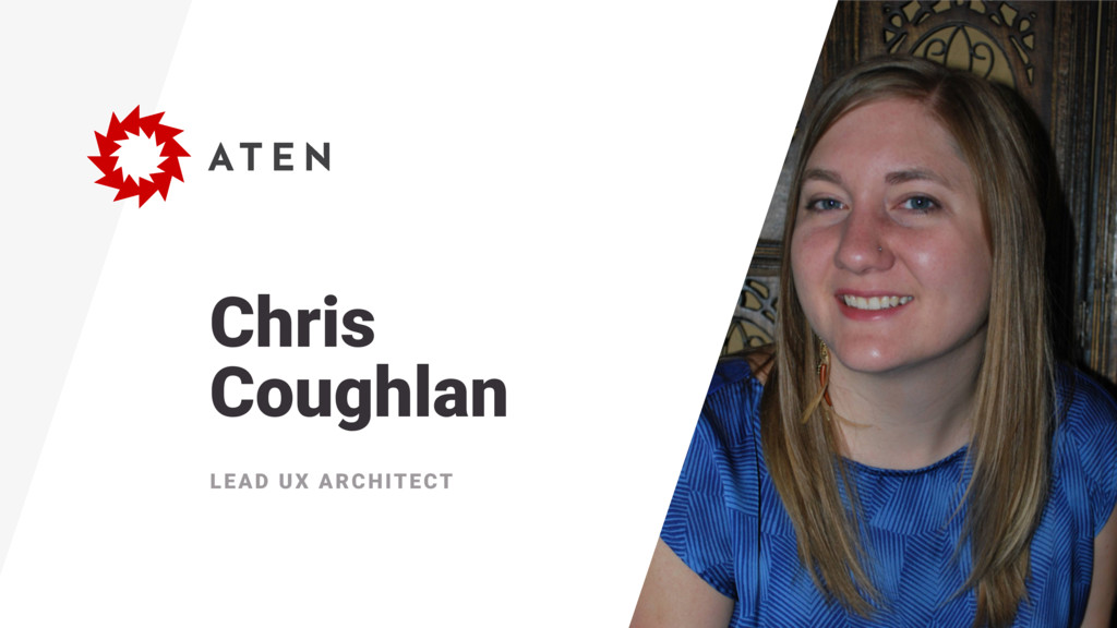 Chris Coughlan LEAD UX ARCHITECT