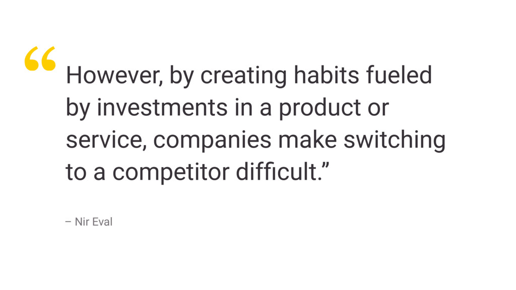 """""""However, by creating habits fueled by investme..."""