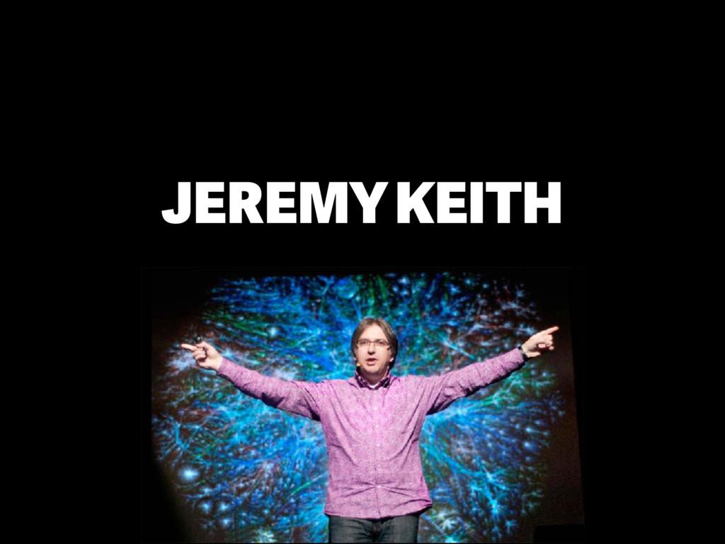 JEREMY KEITH