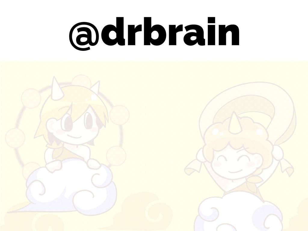 @drbrain