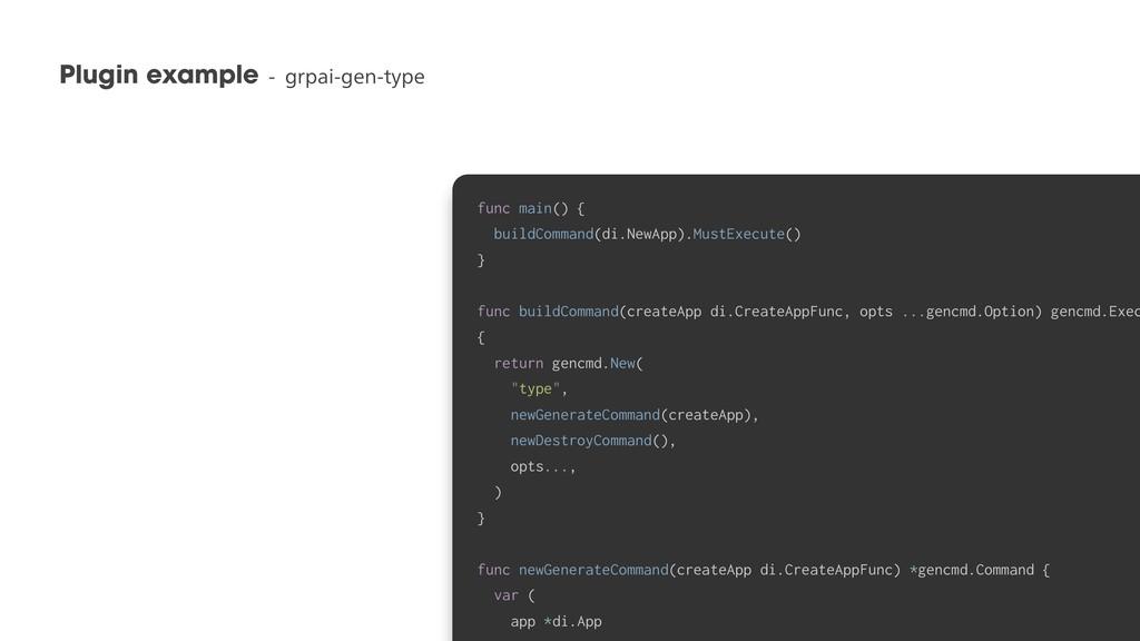 Plugin exampleHSQBJHFOUZQF 37 func main(...