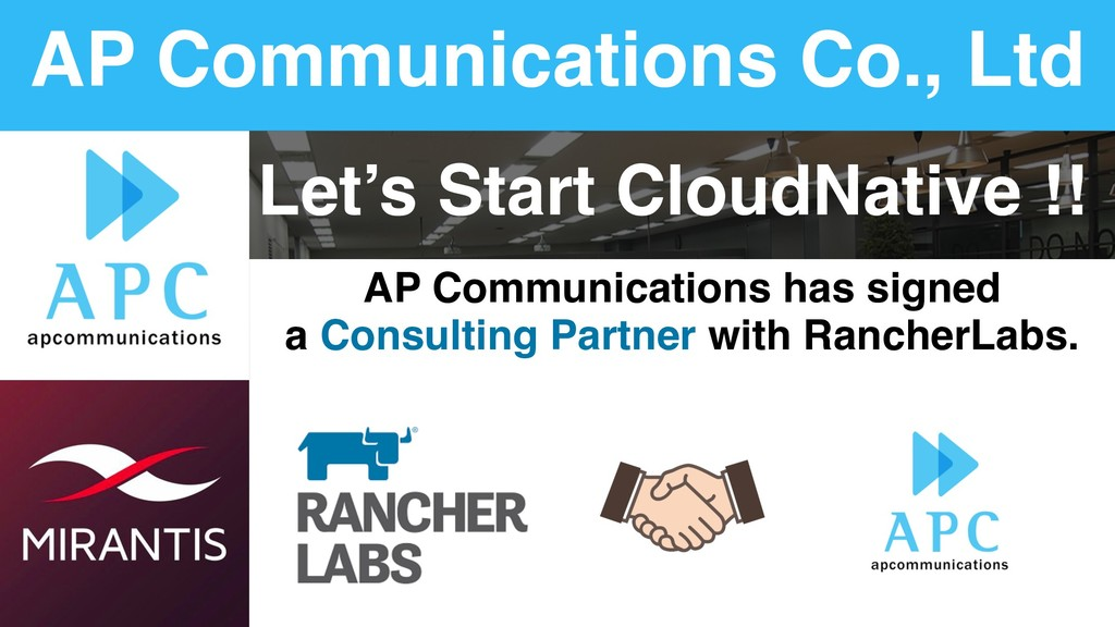 AP Communications Co., Ltd Let's Start CloudNat...
