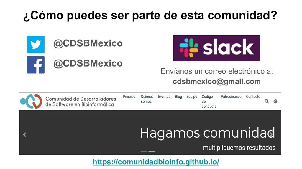 Envíanos un correo electrónico a: cdsbmexico@gm...